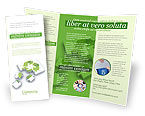 Business Concepts: Modello Brochure - La tecnologia recycle #04181