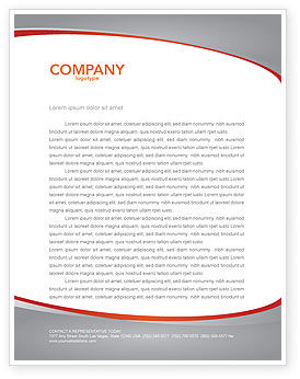 Pull Letterhead Template, 04183, Consulting — PoweredTemplate.com