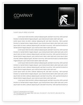 Seclusion Letterhead Template, 04191, Consulting — PoweredTemplate.com