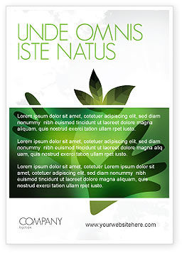 Nature & Environment: Helping Nature Ad Template #04194
