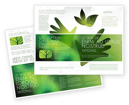 Nature & Environment: Helping Nature Brochure Template #04194