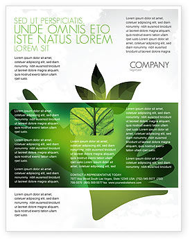 Nature & Environment: Helping Nature Flyer Template #04194