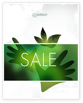 Nature & Environment: Helping Nature Sale Poster Template #04194