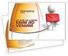 Careers/Industry: Email Delivery Postcard Template #04195