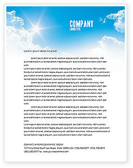 Travel Directions Letterhead Template, 04196, Global — PoweredTemplate.com