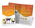 Food & Beverage: 팜플릿 템플릿 - 강한 음료 #04199
