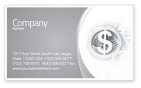 Financial/Accounting: World Hard Currency Business Card Template #04203