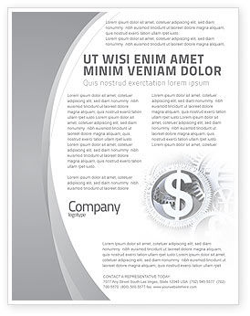 Financial/Accounting: World Hard Currency Flyer Template #04203