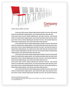 Business Concepts: Distinguishing Letterhead Template #04206