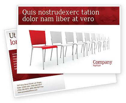 Distinguishing Postcard Template, 04206, Business Concepts — PoweredTemplate.com