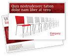 Business Concepts: Distinguishing Postcard Template #04206