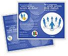 Consulting: Plantilla de folleto - estructura de organización #04207
