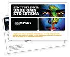 Global: South America Postcard Template #04210