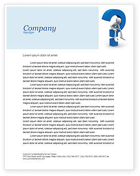 Unsolved Issue Letterhead Template