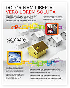 Careers/Industry: Private House Flyer Template #04214