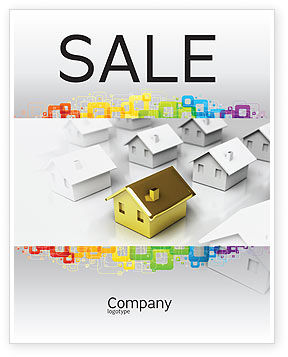 Careers/Industry: Private House Sale Poster Template #04214