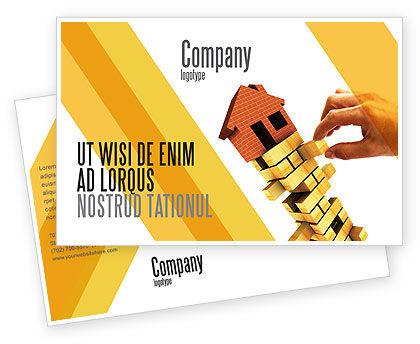 Consulting: Building Postcard Template #04217