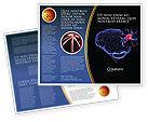 Medical: Brain Receptor Brochure Template #04218