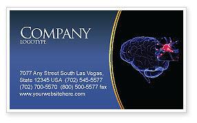 Brain Receptor Business Card Template