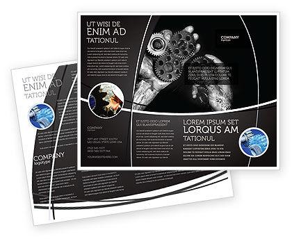 Mechanic Gears Brochure Template