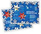 Holiday/Special Occasion: Winter Theme Brochure Template #04220