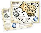 Financial/Accounting: Bank Bankruptcy Brochure Template #04221
