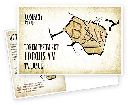 Bank Bankruptcy Postcard Template