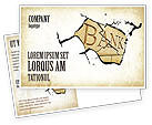 Financial/Accounting: Bank Bankruptcy Postcard Template #04221