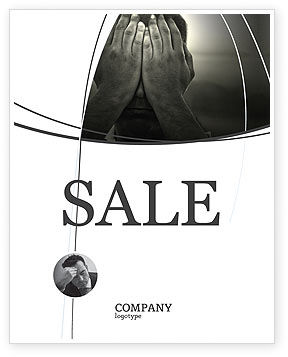 People: Sorrow Sale Poster Template #04222