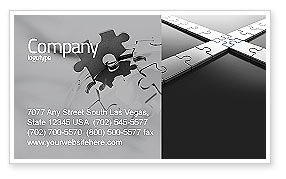 Junction Business Card Template, 04224, Business Concepts — PoweredTemplate.com