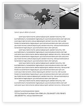 Business Concepts: Junction Letterhead Template #04224