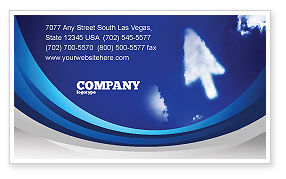 Cursor Business Card Template, 04225, Technology, Science & Computers — PoweredTemplate.com