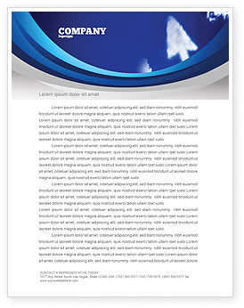 Technology, Science & Computers: Cursor Letterhead Template #04225