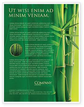 Bamboo Grove Flyer Template