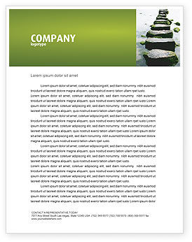 Path Letterhead Template, 04228, Education & Training — PoweredTemplate.com