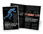 Sports: Start Position Brochure Template #04229