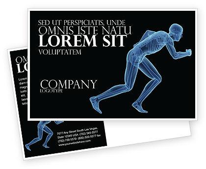 Start Position Postcard Template, 04229, Sports — PoweredTemplate.com