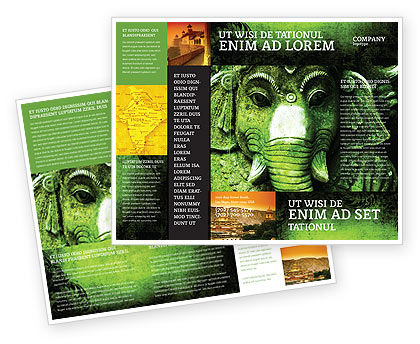 Ancient India Brochure Template