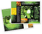 Flags/International: Ancient India Brochure Template #04230