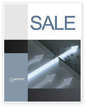 Consulting: Blowout Sale Poster Template #04232