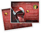 Food & Beverage: Wine Glass Brochure Template #04235
