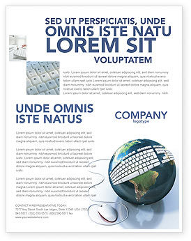 Technology, Science & Computers: Templat Flyer Pasang Koneksi Internet #04236