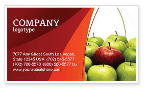 Another Sort Business Card Template, 04246, Agriculture and Animals — PoweredTemplate.com