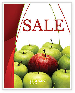 Another Sort Sale Poster Template, 04246, Agriculture and Animals — PoweredTemplate.com