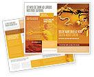 Religious/Spiritual: Temptation Brochure Template #04255
