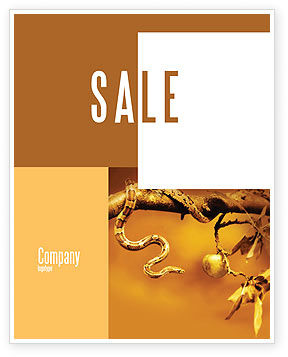 Temptation Sale Poster Template, 04255, Religious/Spiritual — PoweredTemplate.com