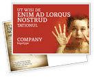 Medical: Autism Postcard Template #04257