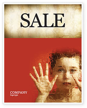 Autism Sale Poster Template, 04257, Medical — PoweredTemplate.com