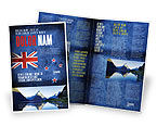 Flags/International: New Zealand Brochure Template #04258
