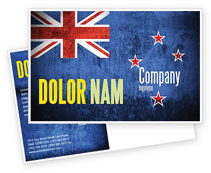 New Zealand Postcard Template#1